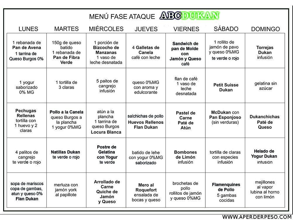 recetas dieta dukan fase crucero pdf