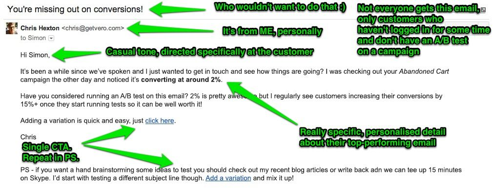 How Your Customers Actually Read Your Emails by Chris Hexton from Vero on ConversionXL