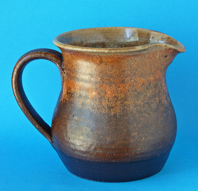 Graham fern pottery jug porthleven pottery near helston