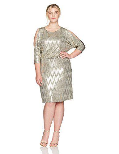 Buy Jessica Howard Jessica Howard Women\'s Plus Size Cold Shoulder ...