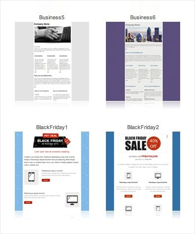 Html Email Templates Responsive Templates Zoho Campaigns Html Email Templates Email Templates Invoice Template