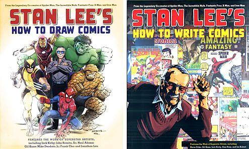 Stan Lee S How To Draw Comics Stan Lee S How To Write Comics Comic Drawing Drawings How To Make Comics