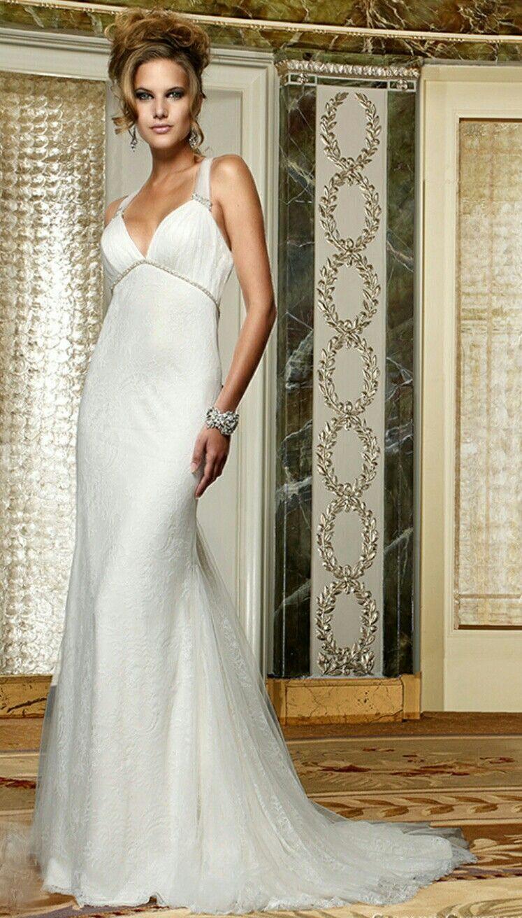 Caroline Castigliano Wedding dresses, Satin bridal gowns