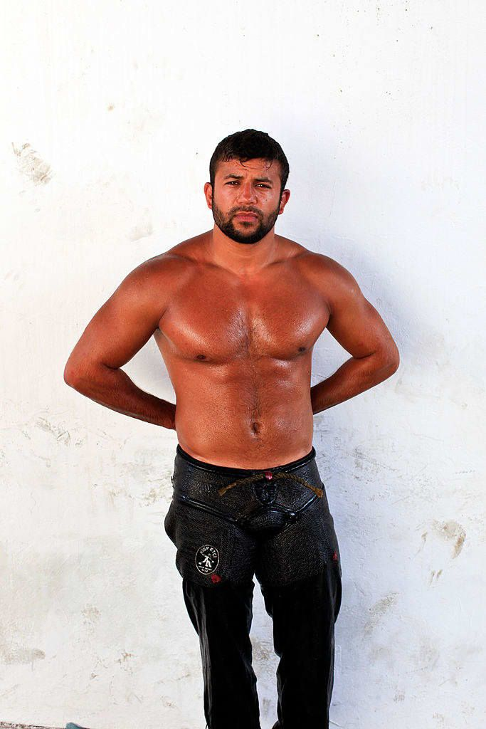 Pin on Turkish Oil Wrestling