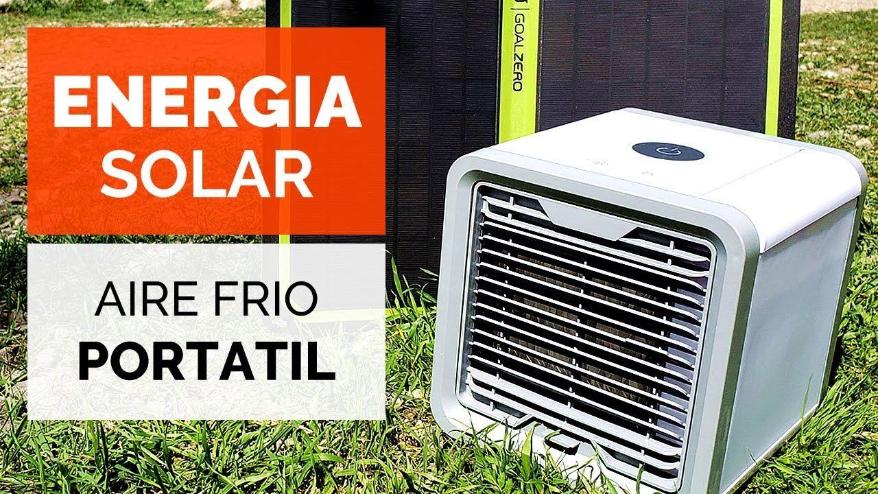 AIRE ACONDICIONADO con ENERGIA SOLAR! ideal para