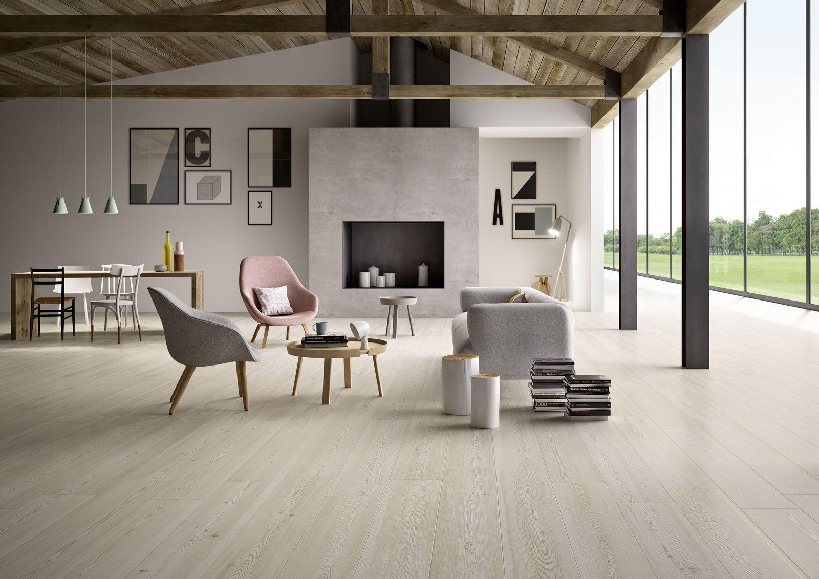 Treverktrend - Wood effect stoneware | Marazzi | Living room ...