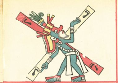 quetzalcoatl-cargando-la-cruz-codice-fejevary-mayer