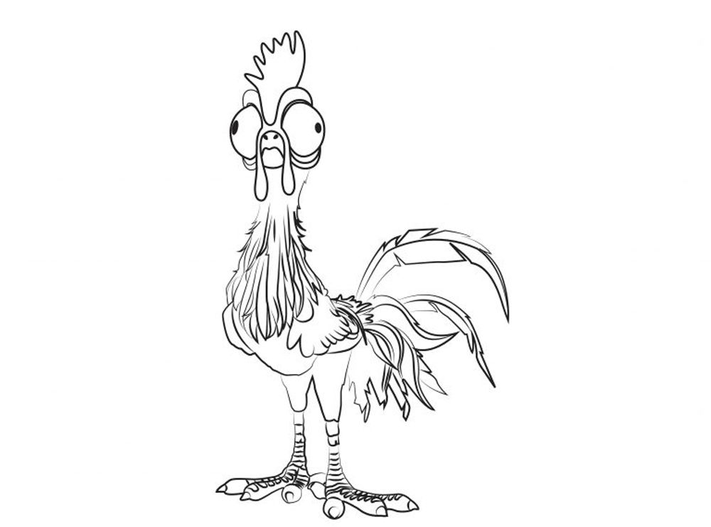 see more print heihei from moana disney coloring pages