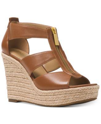 MICHAEL Michael Kors Damita Platform Wedge Sandals | Zapatos