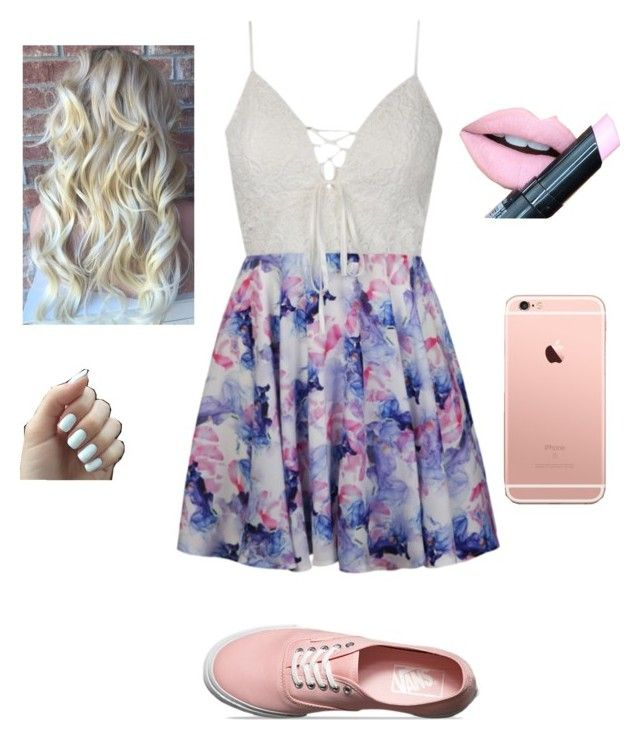 """Untitled #63"" by kaitlynfarrell on Polyvore featuring Ally Fashion, Vans and Fiebiger"
