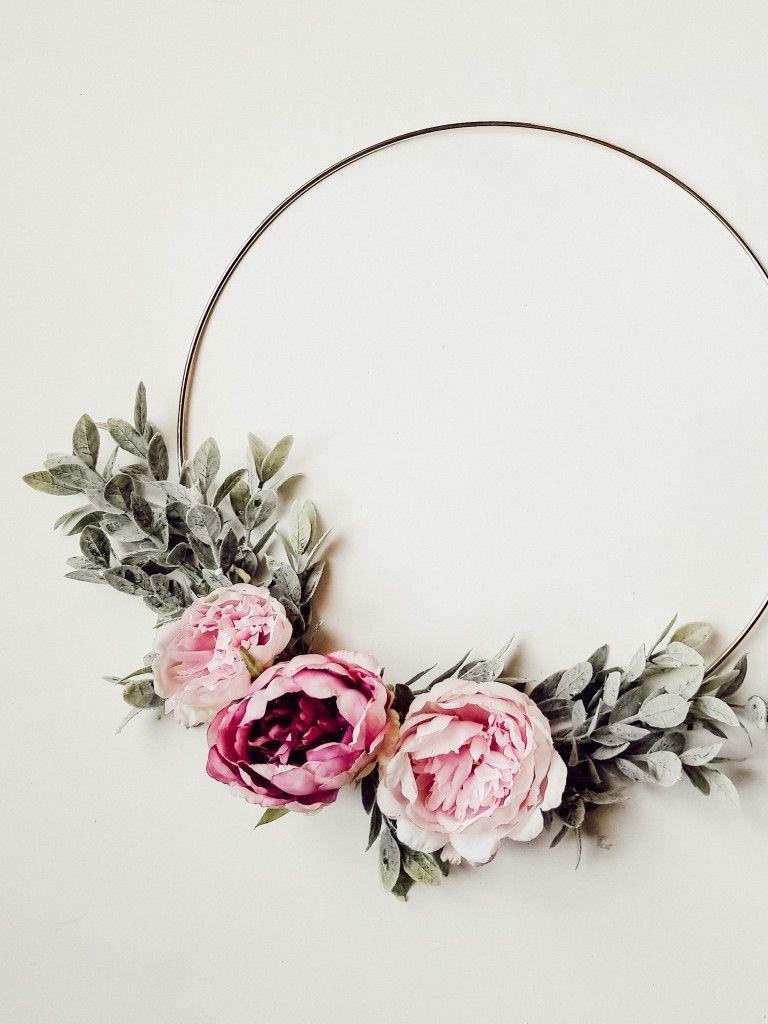 Photo of DIY Spring Peony Wreath