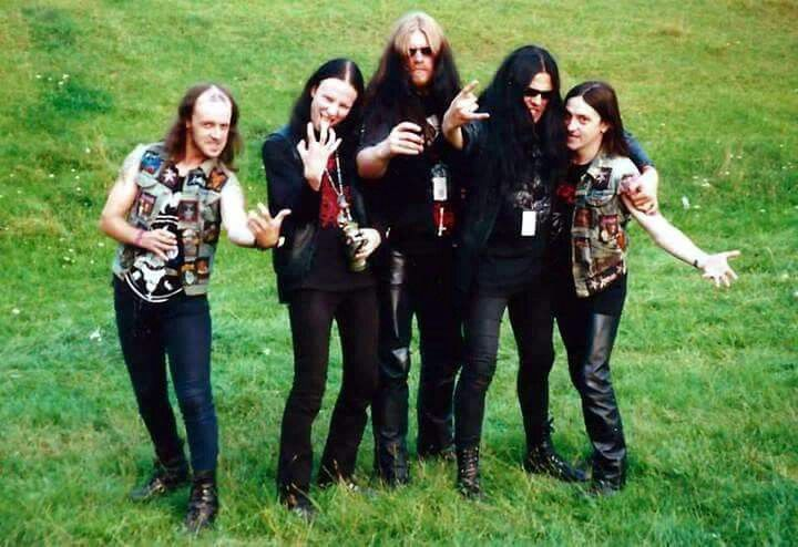 Immortal and Venom legions in Switzerland, 1991.