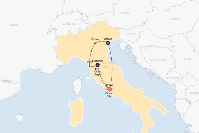 Tour around Italy | Italian espresso | Contiki | US