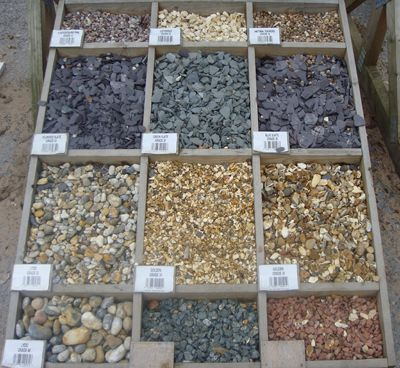 Stone Color Ideas For Landscaping Pea Gravel Patio Gravel