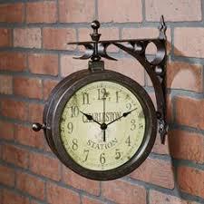 Wall Clocks Touch Of Class In 2020 Wall Clock Outdoor Wall Clocks Clock