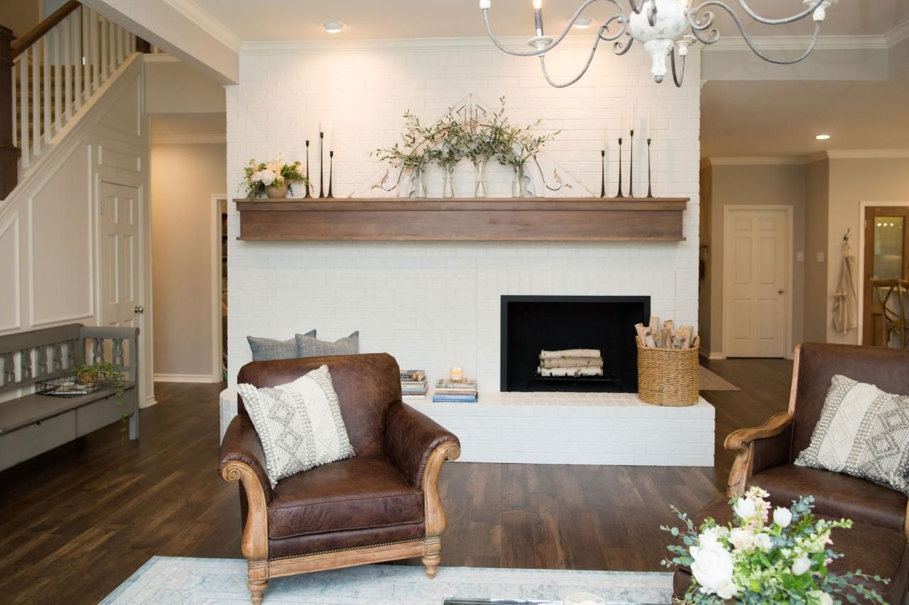 Joanna Gaines Farmhouse Mantel Seriously Is Anyone Else As Addicted To Fixer Upper As Me