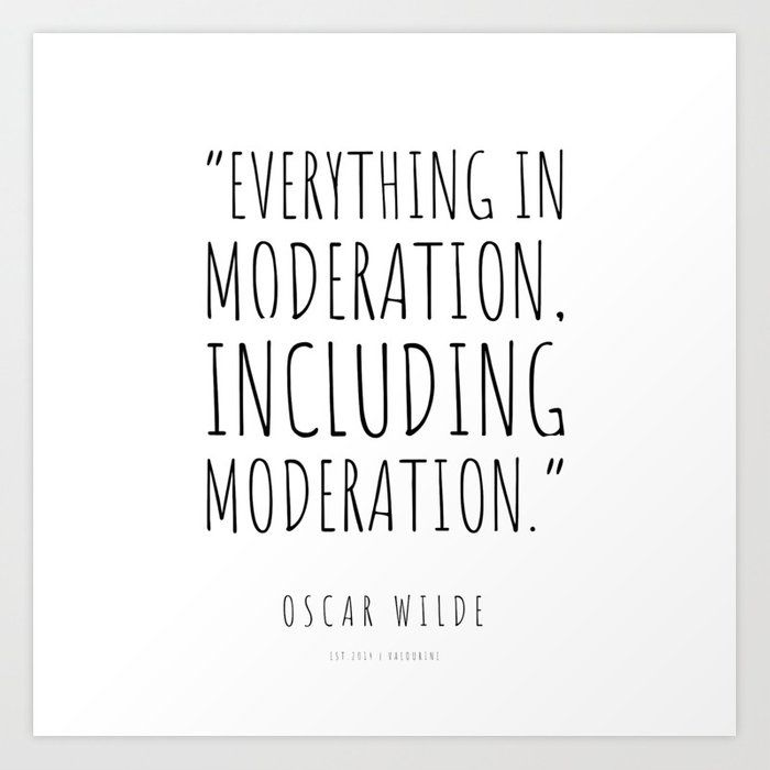 50 | Oscar Wilde Quotes | 201004 Writing Essay Inspiring Motivating Literature Writer Art Print by Wordz