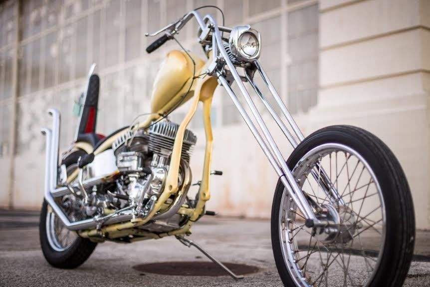 Born Free 6 Entrant 1940 HarleyDavidson UL Custom