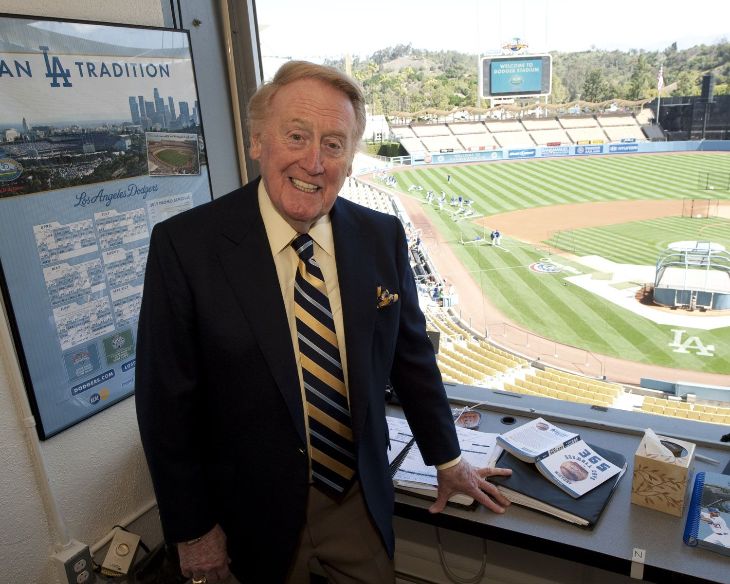 old photos vin scully - Google Search | The Broadcasters / Press ...