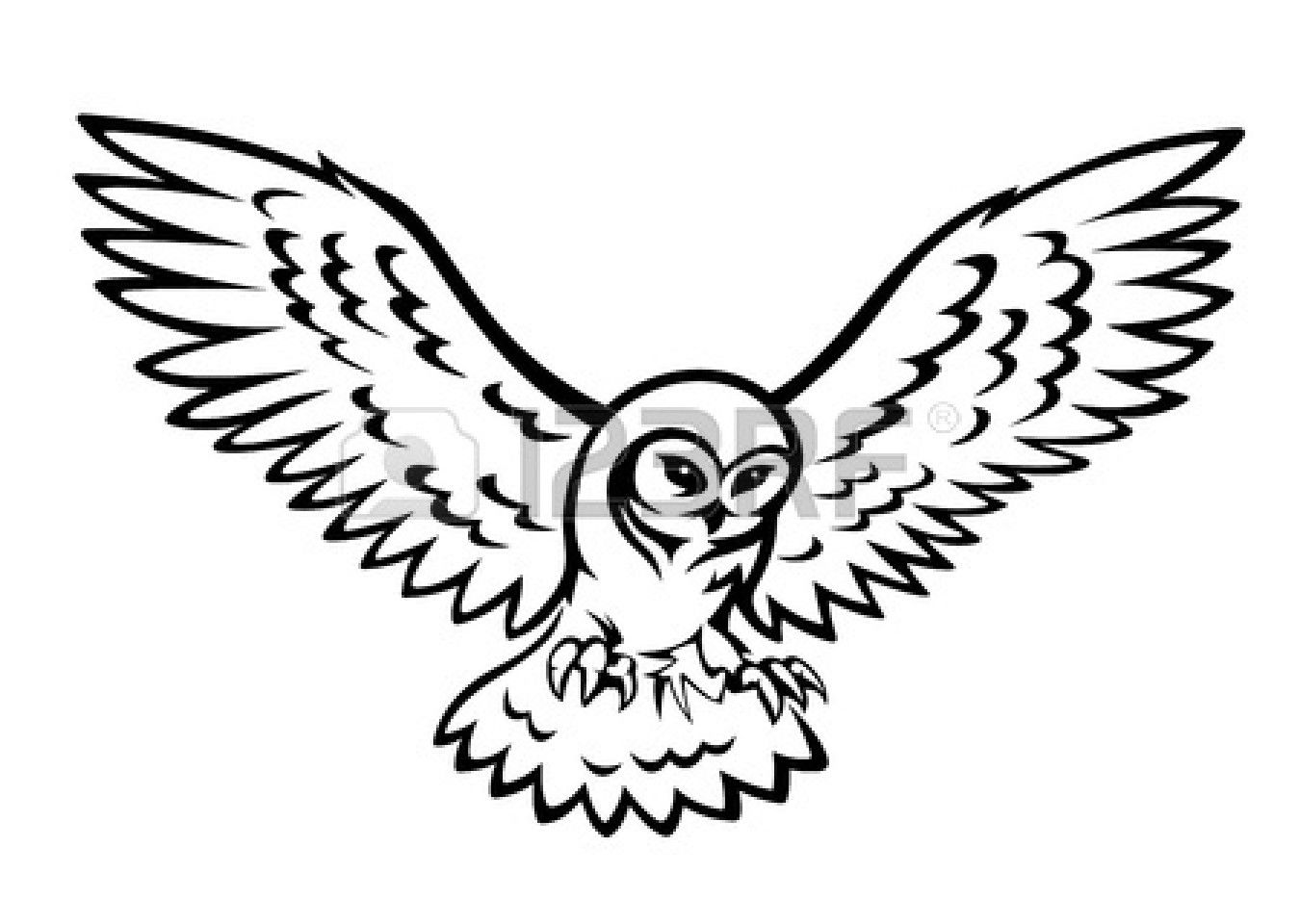 Images For > Simple Owl Silhouette | Tattoos | Pinterest ...