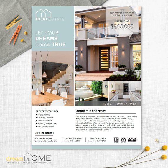 real estate flyer template real estate flyer vertical images