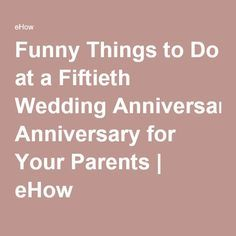 fiftieth wedding anniversary gifts parents