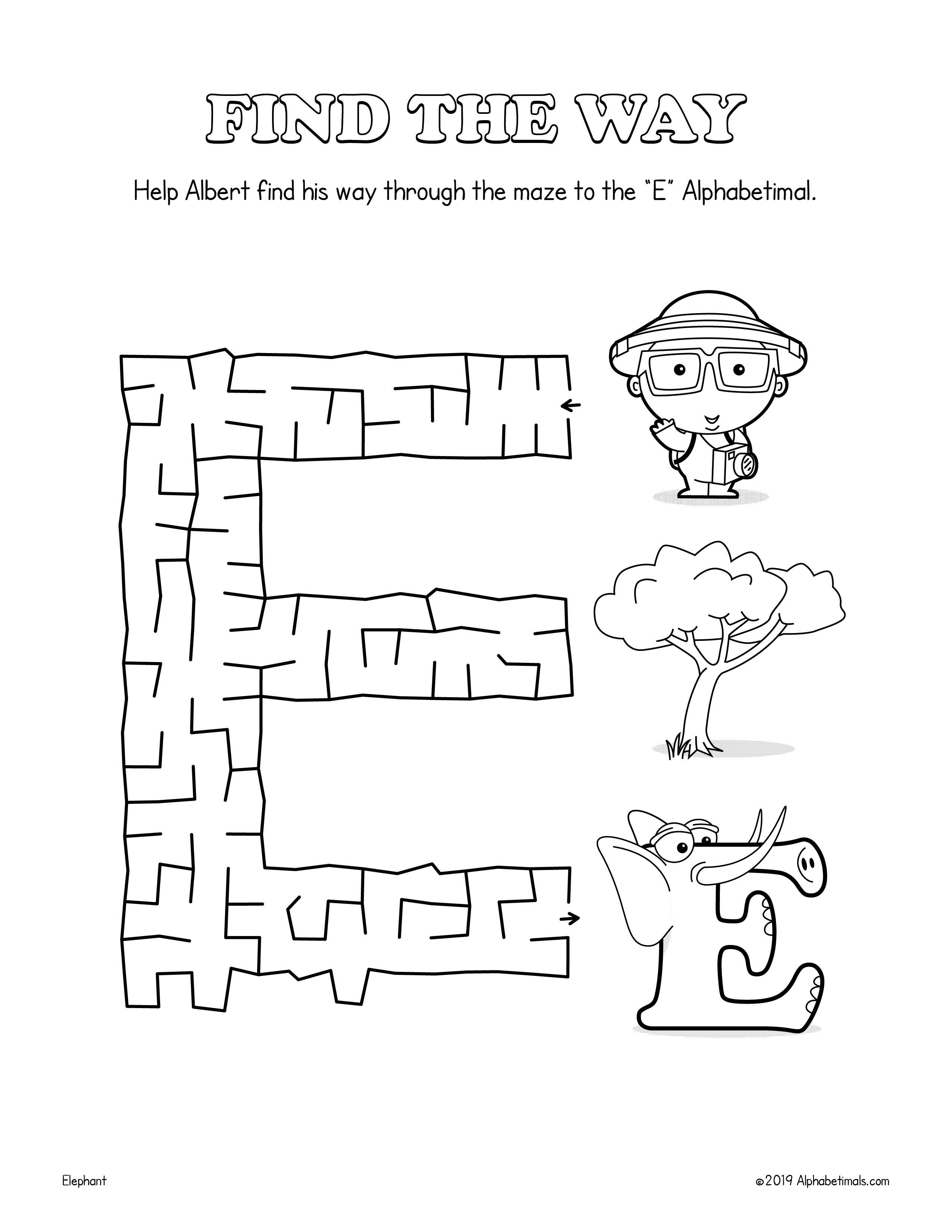 Alphabetimals Alphabet Fun Variety Pack 26 Printable