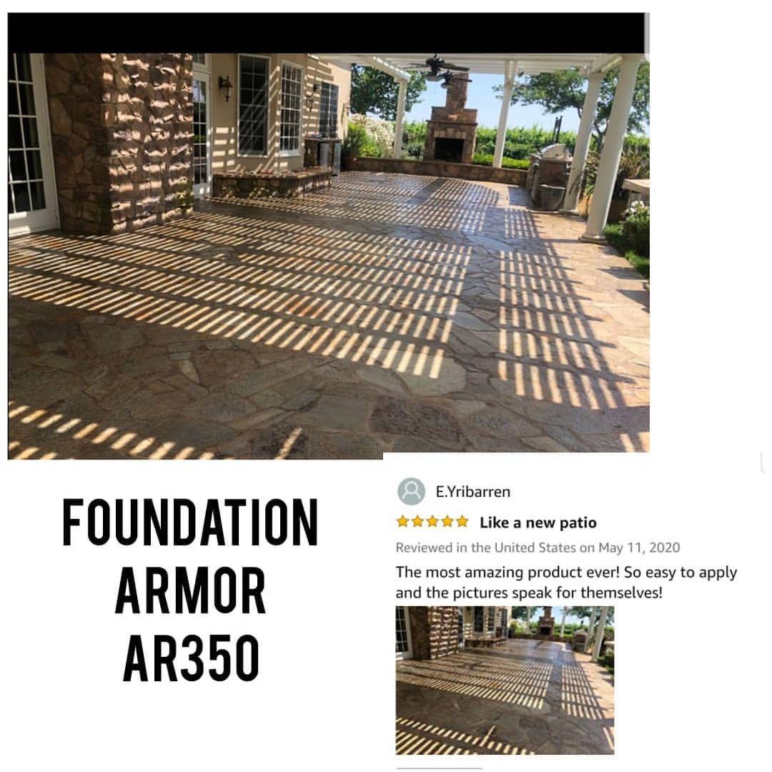 Armor AR350 Solvent Based Acrylic Wet Look Concrete Sealer