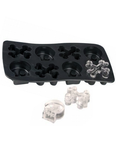 Bone Chillers Ice Cube Tray by Fred & Friends (Black)