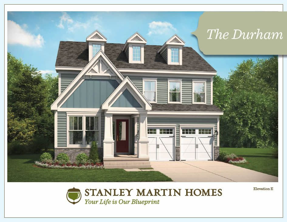 wonderful model homes to build #5: Stanley Martin Custom Homes | Durham Model | We Build On Your Lot