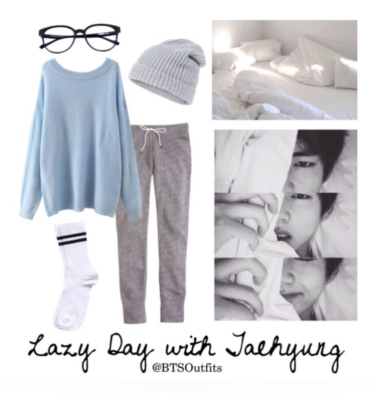 BTS V/Taehyung Lazy Day outfit | BTS outfits | Pinterest | Lazy BTS and Kpop