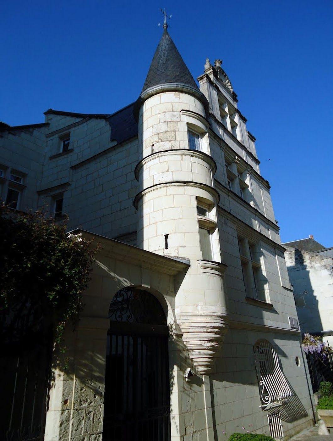 Hôtel Dit Poirier De Beauvais, Ville De Chinon