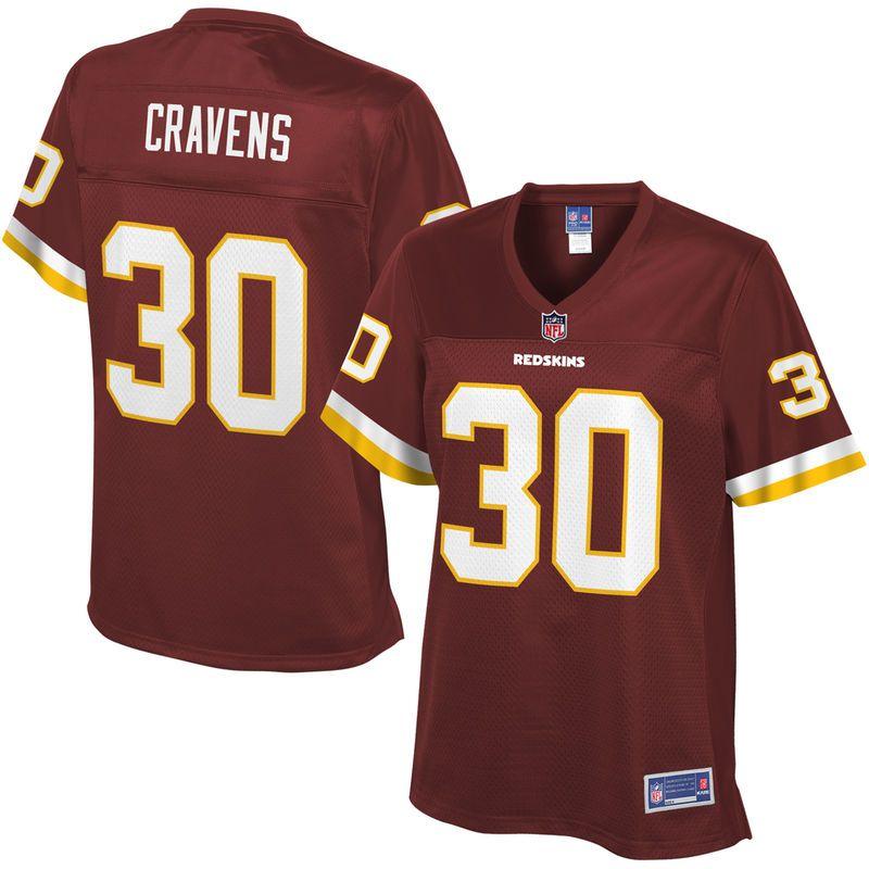 55413324f Sua Cravens Washington Redskins NFL Pro Line Women s Player Jersey -  Burgundy