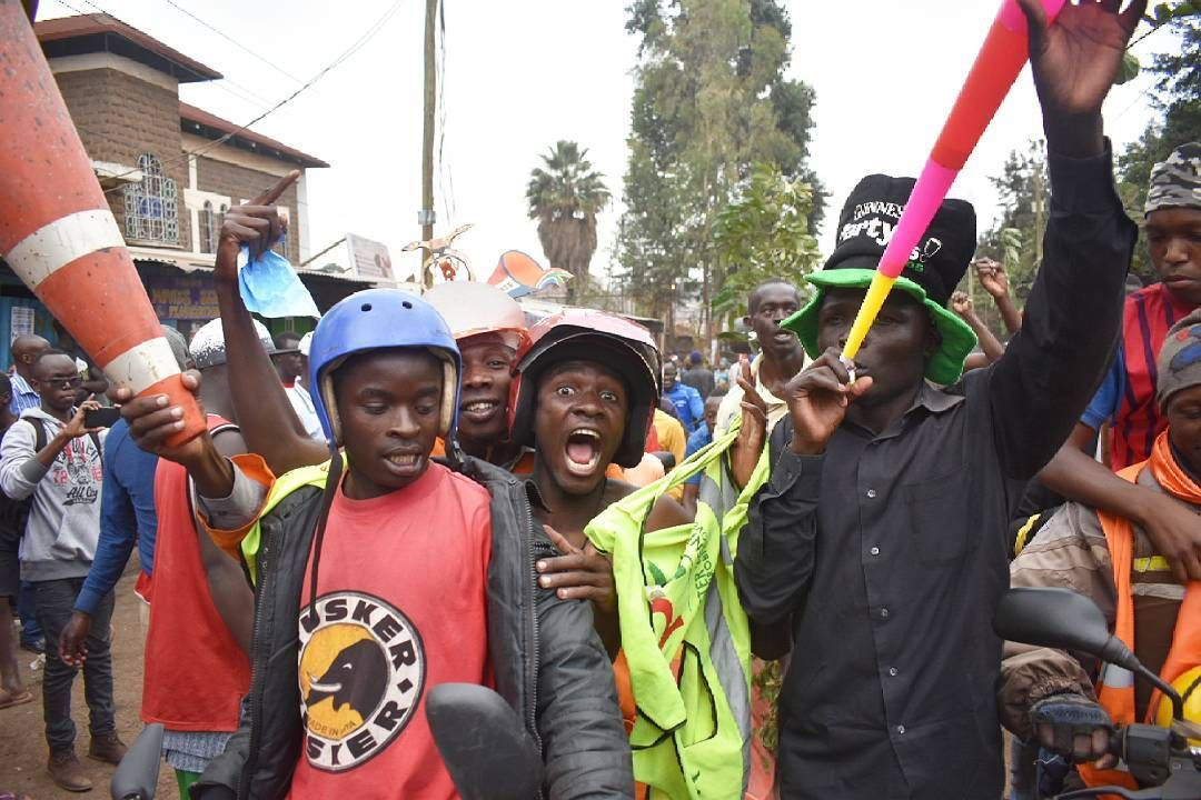 Celebrations In Kibera Slums As Raila Wins Presidential Petition