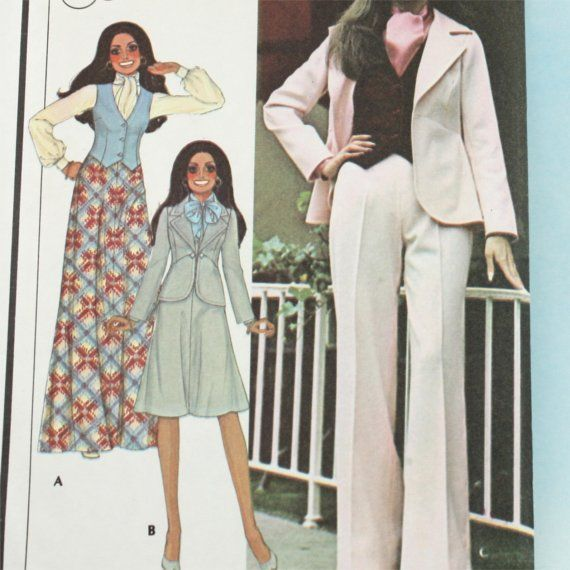 Vintage 1970s  Sewing Pattern McCall's 4729 by Old2NewMemories, $5.75