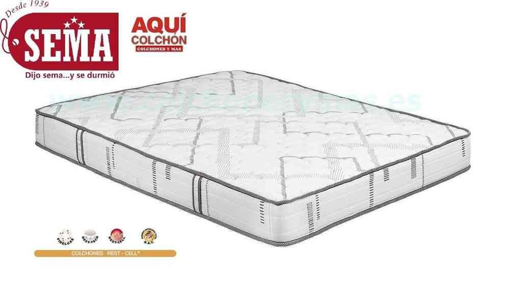 Comprar Colchon Sema Borgona Cell Con Latex Madrid Colchones