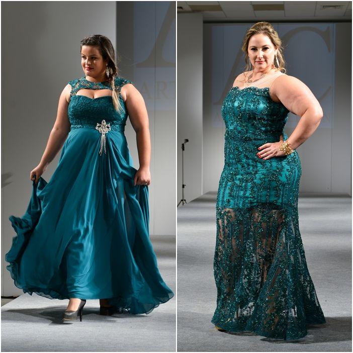 Vestido para festa plus size 2015