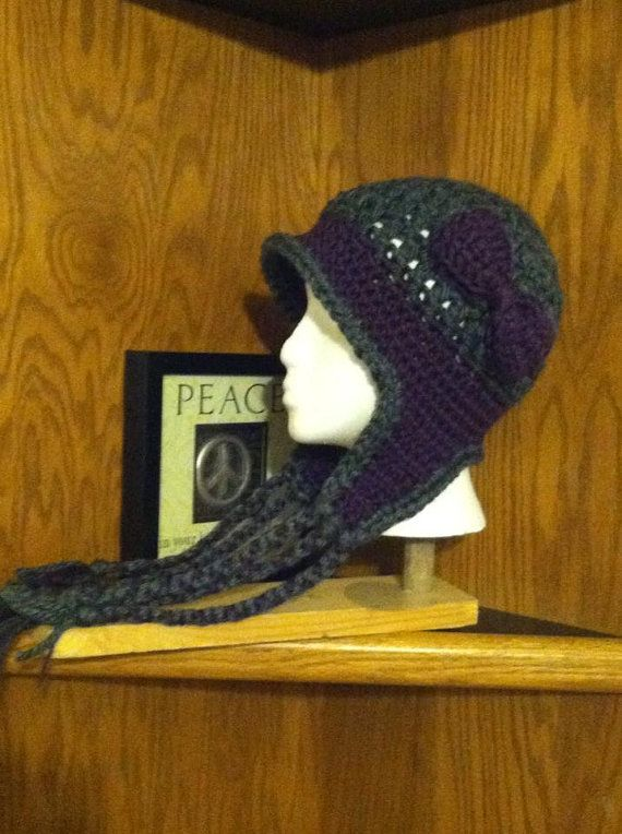 021e758e700 Women s Winter Hat with Earflaps by annieOD on Etsy