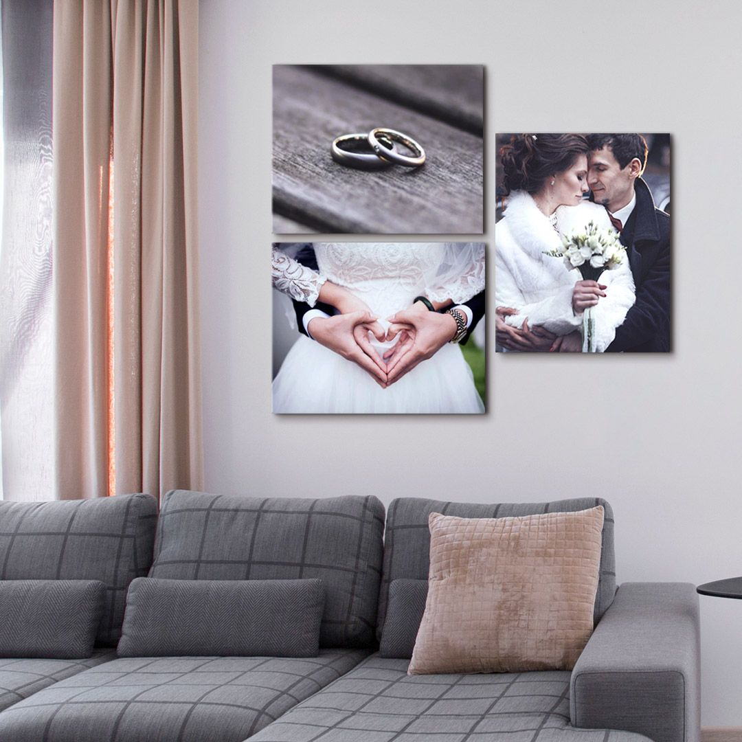 Wedding Canvas Prints Art From Canvas On Demand Decor Home Living Room Black Living Room Decor Wall Decor Master
