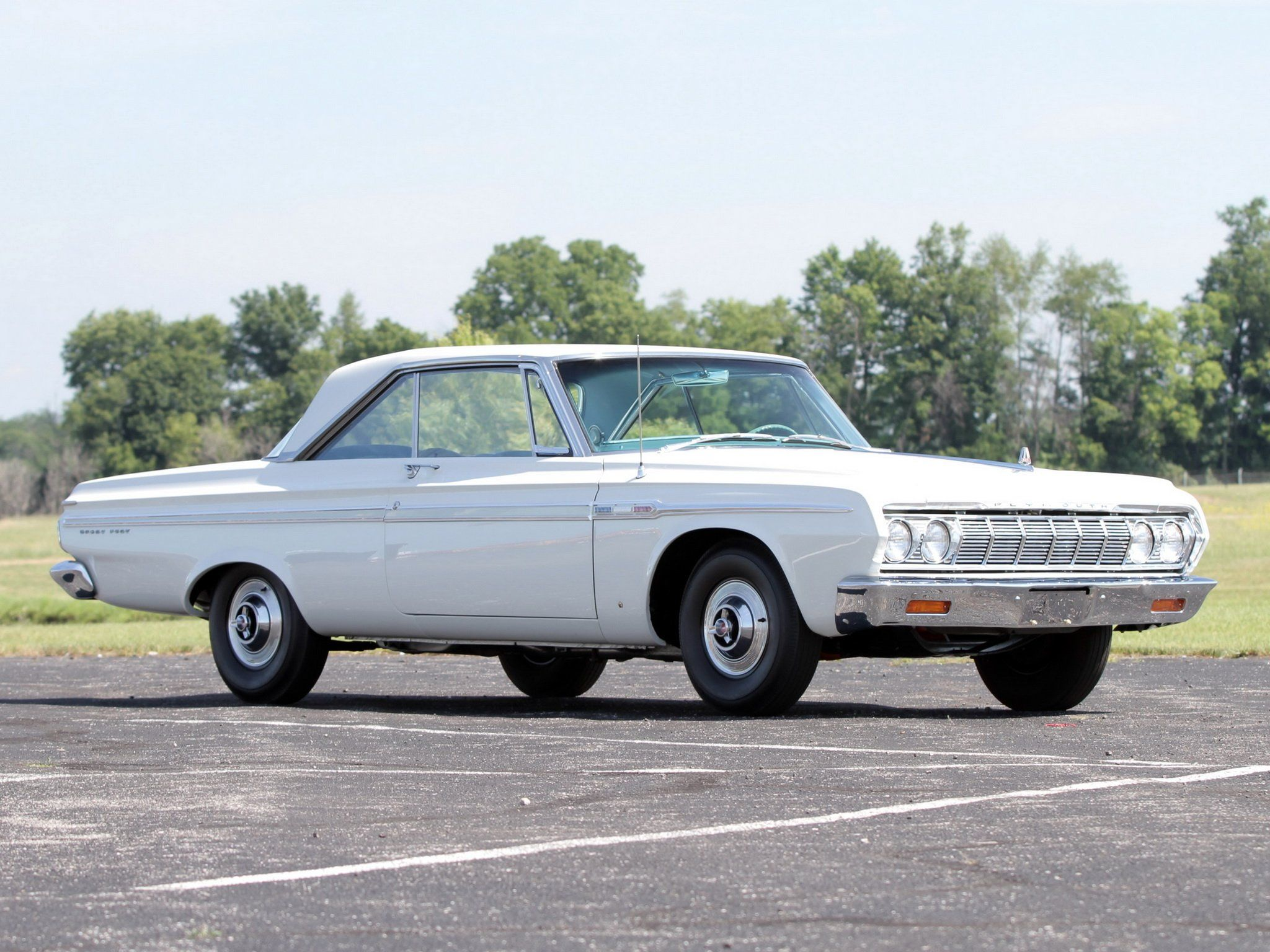 1964 Plymouth Sport Fury 426 'Max Wedge Stage III