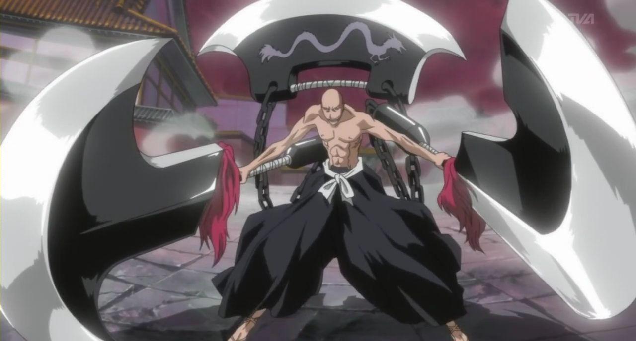 Ikkaku Madarame + bankai - strongest bald anime character