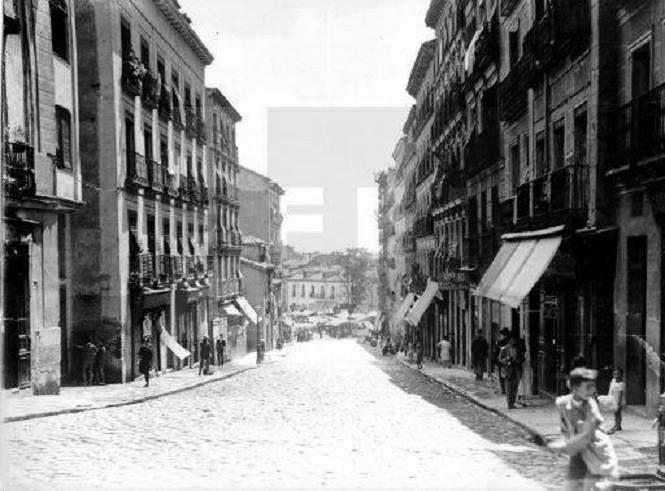 calle del Ave María en Lavapiés. 1933. Foto EFE