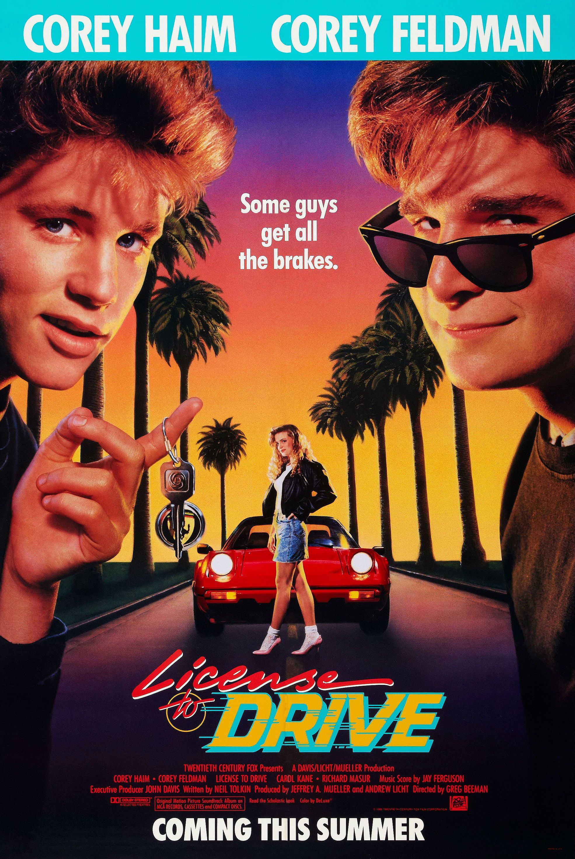 License to drive 1988 corey feldman original movie