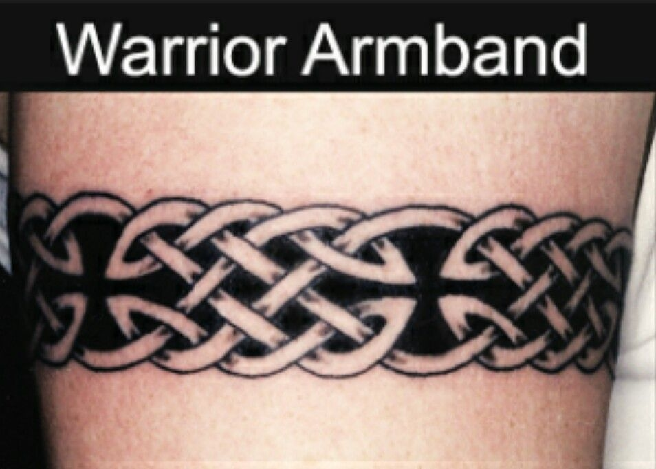 Viking Armband Tattoo Designs: I'm A Warrior Earth Warrior