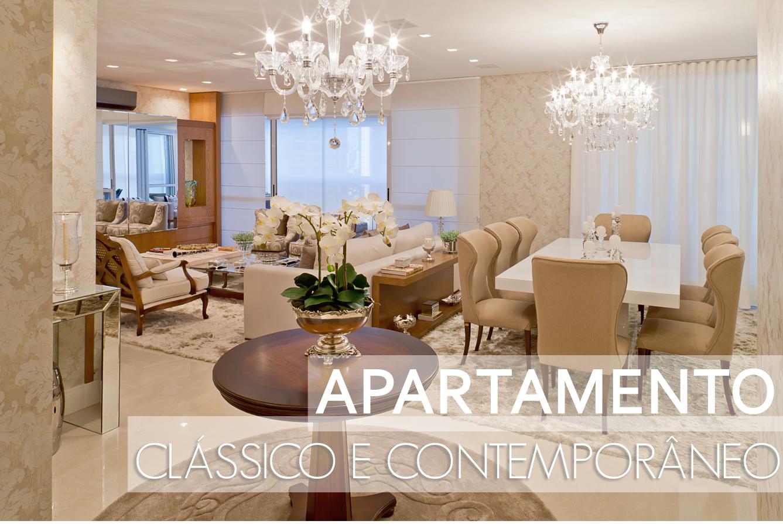 Blog De Decoração E Arquitetura : Apartamento Com Decoração Clássica E