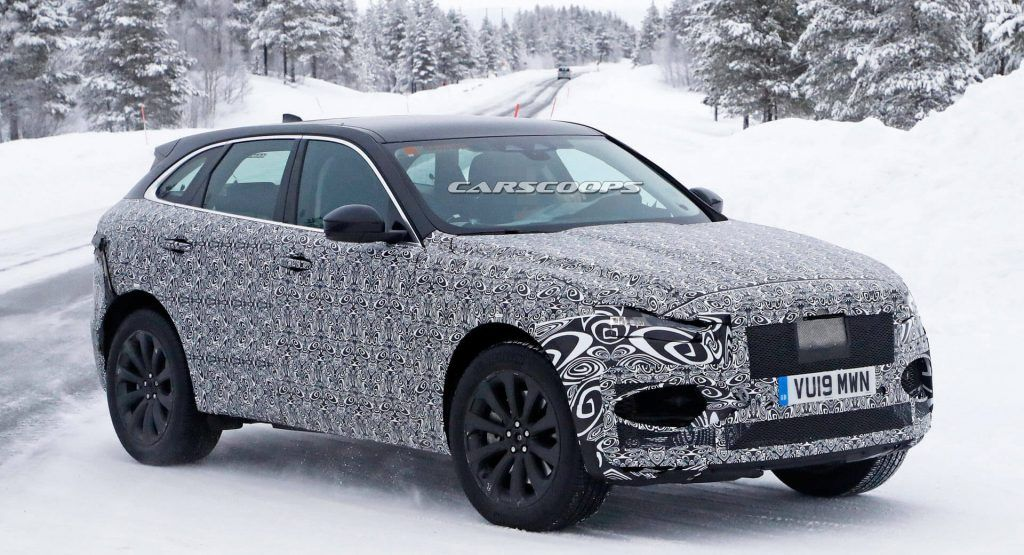 2021 Jaguar F Pace Getting Brand New Light Units Front And Rear