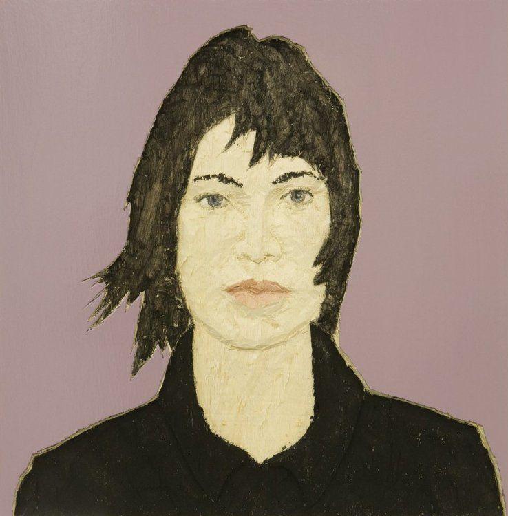 Stephan Balkenhol - Portrait of a woman (Relief)