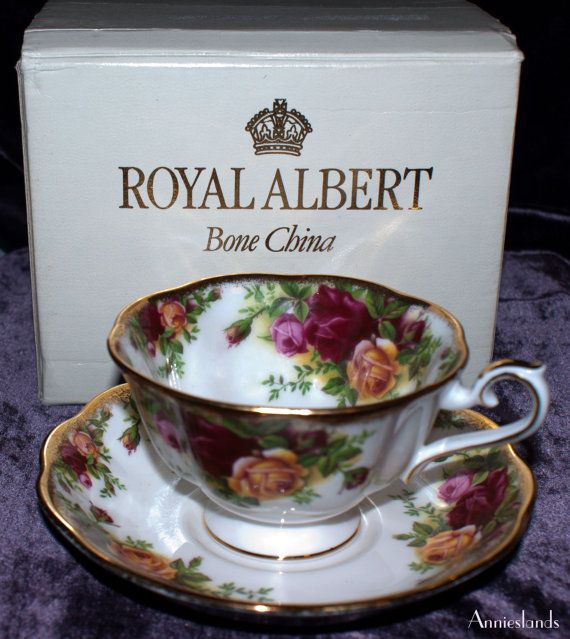 Royal Albert Rare Avon Cup Amp Saucer Old Country Roses