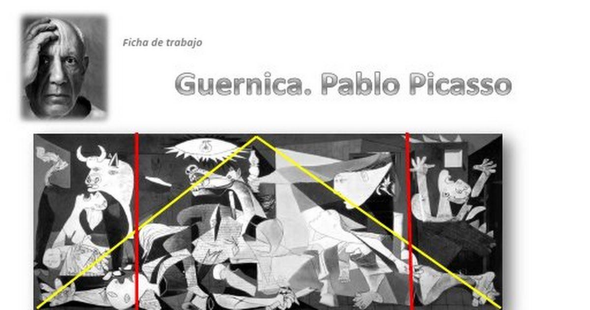 Ficha De Trabajo Guernica Pdf Tableau Guernica Tableau Picasso Histoire De L Art