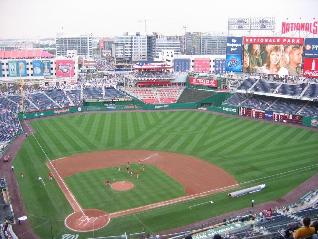 Washington Nationals Stadium Seating Chart Nationals Park Washington Nationals Washington Nationals Stadium